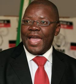Tendai Biti-Minister of Finance (Image courtesy of newzimbabwe.com)